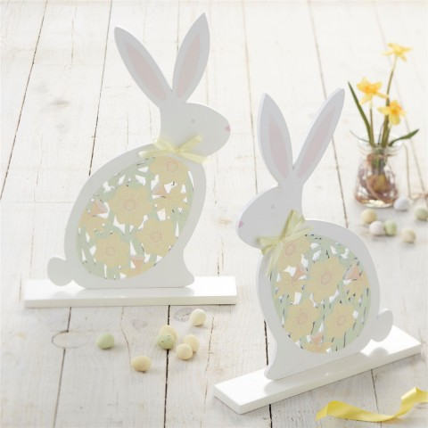 Easter Bunny Standing Decoration