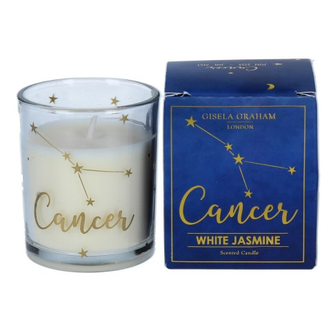 Zodiac Gold Foiled Scented Candle - Cancer