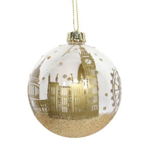 London Gold Bauble