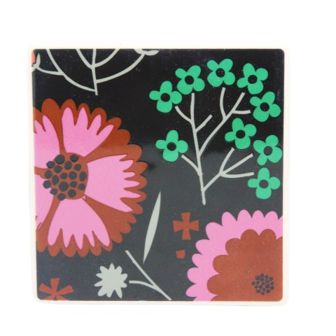 Mixed Floral Coasters - Set of Four