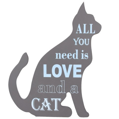 Cat Wall Sign
