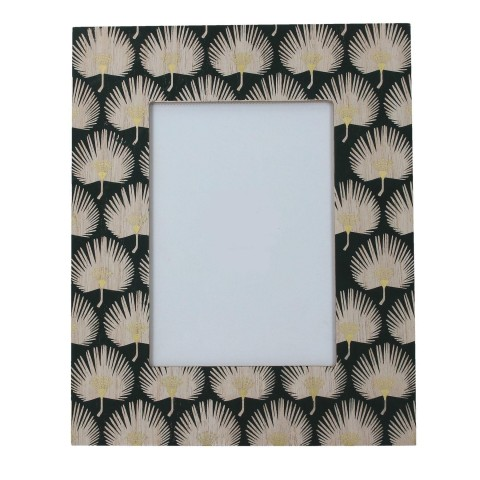 Green and Gold Leaf Picture Frame