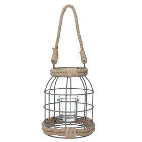Rope and Wire Lantern - Small