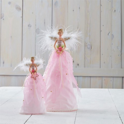 Pink Fairy Tree Toppers
