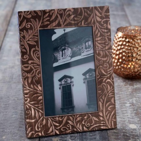 Copper Embossed Picture Frames