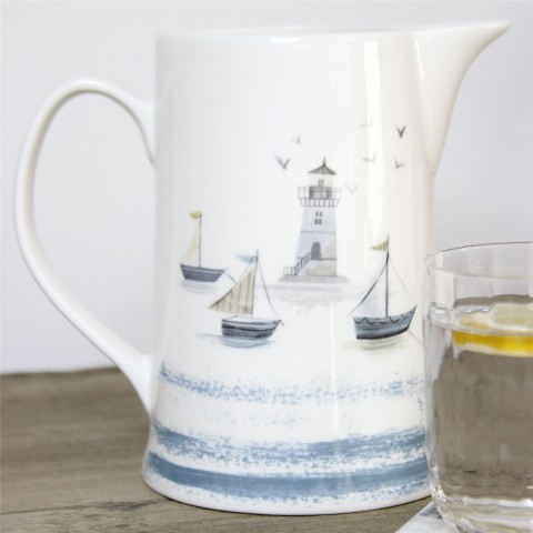 Coastal Scene Jug - Medium