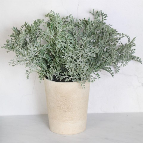 Artificial Dusty Miller Plant