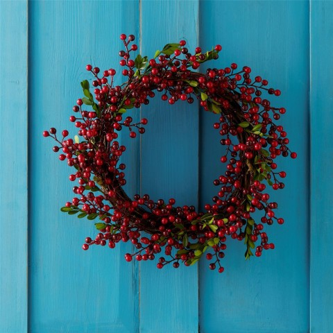 Red Berry Christmas Wreath