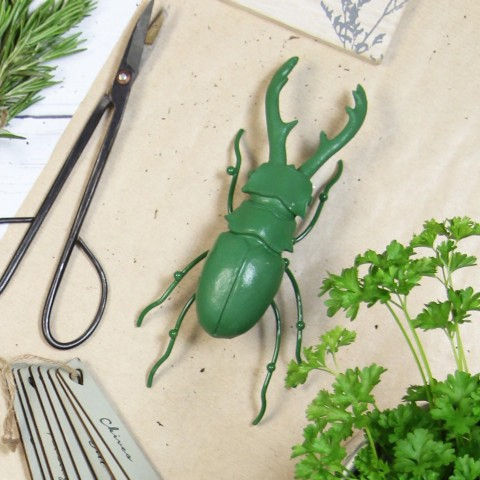Green Resin Insect Ornament