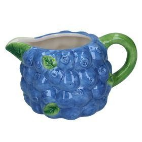 Blueberry Ceramic Jug - Small