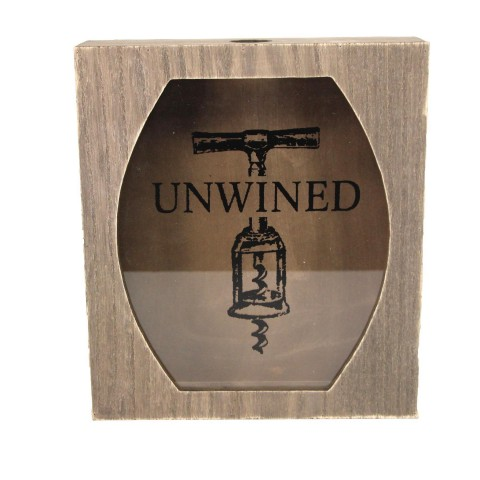 'Unwined' Cork Collector Box