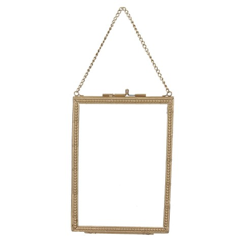 Gold Beaded Edge Hanging Picture Frame - Small