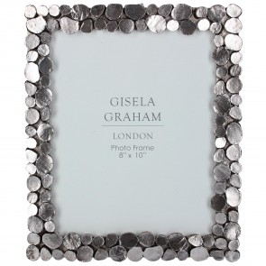 Pewter Pebble Picture Frame Large
