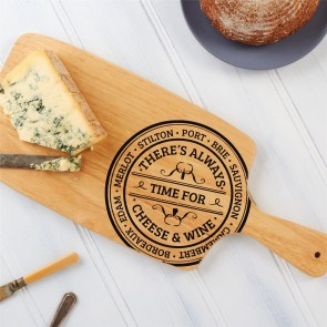 Long Wood Cheese Board