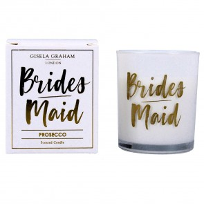 Bridemaids Mini Prosecco Scented Boxed Candle