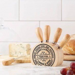 Cheese Knife Block Set