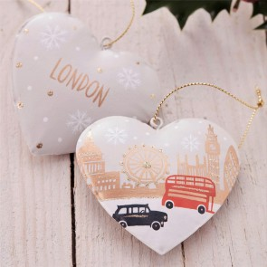 London Scene Heart Decoration