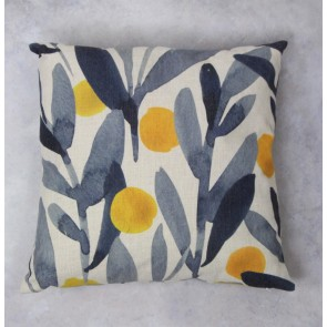 Lemons Fabric Cushion