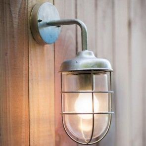 Harbour Galvanised Wall Light