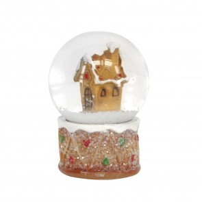 Mini Gingerbread House Snowglobe