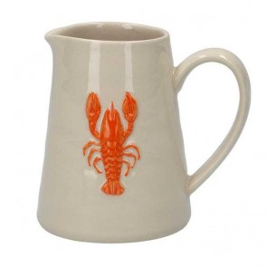 Ceramic Mini Jug with Lobster