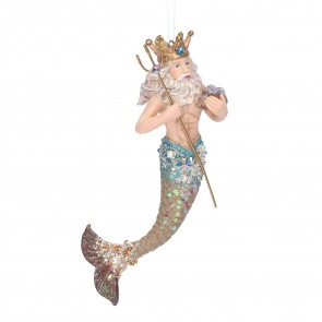 Resin Decoration 16cm - King Triton
