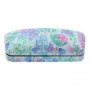 Desert Blooms Luxe Glasses Hard Case