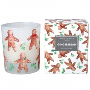 Boxed Scented Candle 10cm - Gingerbread Men