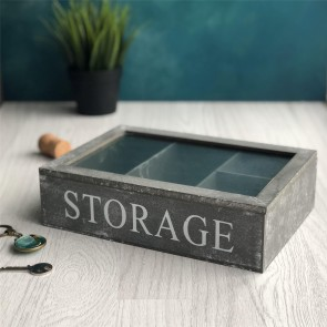 Concrete Effect Storage Box