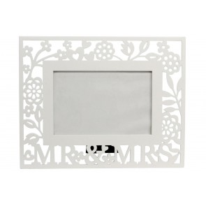 Mrs & Mrs Picture Frame 6x4