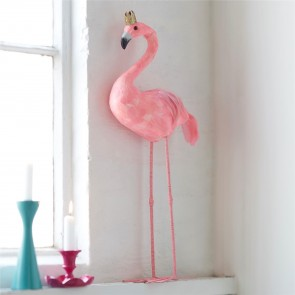 Giant Standing Feather Flamingo
