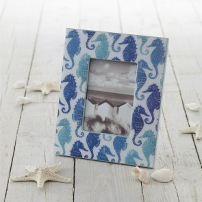 Nautical Seahorse Picture Frame