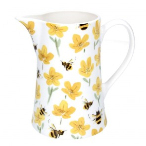 Buttercup Bee Ceramic Jug Medium