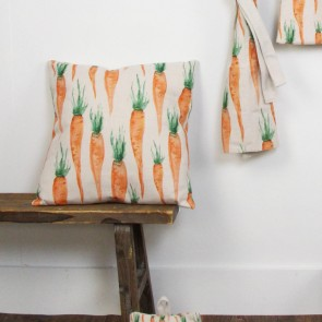 Carrot Fabric Cushion