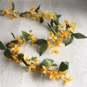 Yellow Forsythia Garland