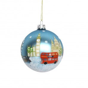 London Painted Bauble