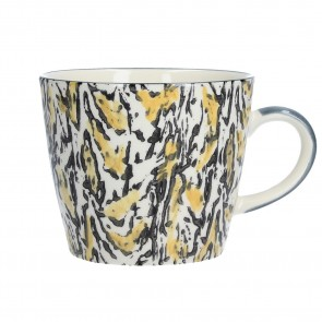 Yellow Animal Print Mug