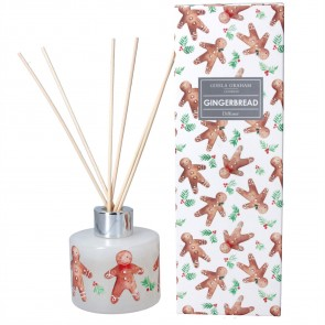 Boxed Reed Diffuser - Gingerbread Men