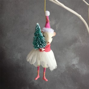 Ballerina Mouse With Tree