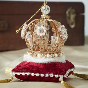 Crown on Cushion Bauble