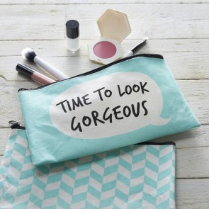 Time To Look Gorgeous Make Up Bag
