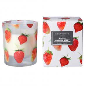 Strawberries Scented Boxed Candle