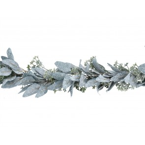 Garland 1.9m - Frosted Eucalyptus