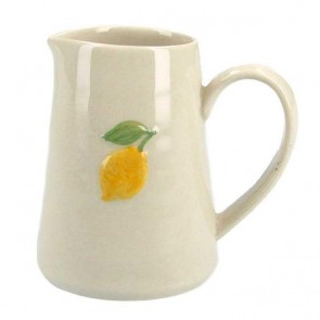 Ceramic Mini Jug with Lemon
