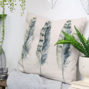 Feather Fabric Cushion