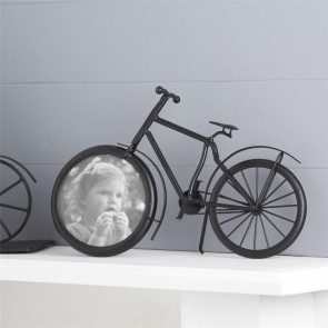 Black Bicycle Picture Frame