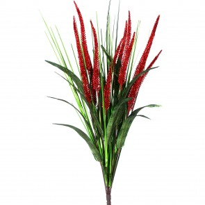 Bunch 62cm - Red Glitter Reed