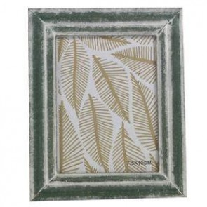 Green Wood Mini Picture Frame