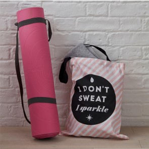 Pink Gym Tote Bag