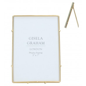 "Gold Edge Picture Frame - 7""x5"""